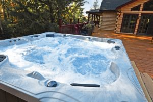 Cabin Hot Tub